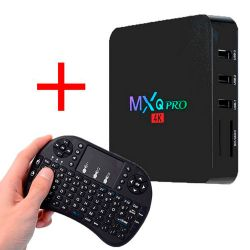 Combo Smart Tv Box Android Hdmi Wifi + Mini Teclado