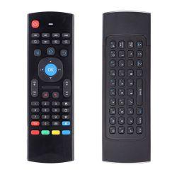 Air Mouse Mini Teclado Inalambrico Control Remoto Voz Y Luz