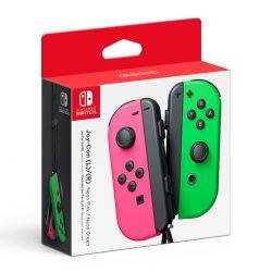 Control Joycon Nintendo Switch Original Pink Green Neon Gtia