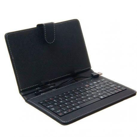 Funda Tablet 9.4 Con Teclado Incorporado - Tipo Agenda