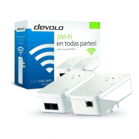 Repetidor Amplificador Wifi Devolo Starter Kit 550+ Potente