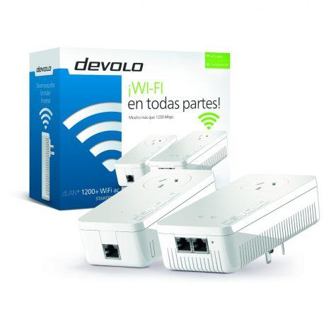 Repetidor Premium Señal Wifi Devolo 1200+ Starter Kit 5ghz