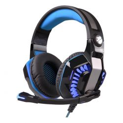 Headset Gamer Wayra Microfono Auricular Luces Led + Ps4 Pc