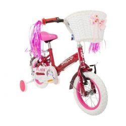 Bicicleta Philco Niñas Mod Patio Rodado 12 Acero Rueditas