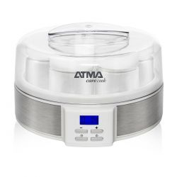 Yogurtera Atma 7 Jarros De Vidrio 200ml Display Lcd + Gtia
