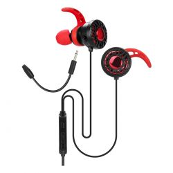 Auricular In Ear Gamer Microfono Removible Xtrike-me 3.5mm
