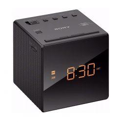 Radio Reloj Despertador Sony Icf C1 Alarma Hora Am Fm Gtia