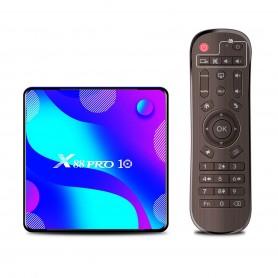 Tv Box X88 Pro Android 9 2gb 16gb Control Wifi Smart Tv Gtia