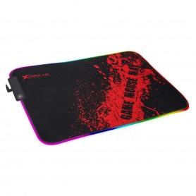 Mousepad Gamer Luz Rgb Usb Microfibra Antideslizante Xtrike