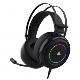 Auricular Headset Gamer Wayra Mic Ps4 Pc Sonido 7.1 Usb Luz