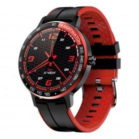 Smartwatch X-view Zen Cronos V6 Reloj Deportes Ip68 Gtia - Rojo