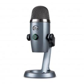 Microfono Blue Yeti Nano Podcast Estudio Usb Condensador - Gris