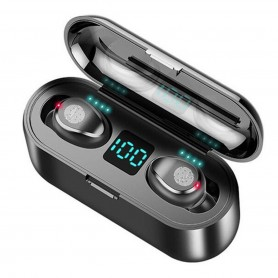 Auriculares Bluetooth Power Bank F9 Tws Touch Stereo Calidad