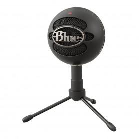 Microfono Blue Snowball Ice Estudio Condensador Streaming - Negro