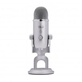 Microfono Condenser Yeti Usb Streaming Profesional Gaming - Gris