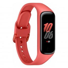 Smartwatch Samsung Galaxy Fit 2 Reloj R220 Sensor Cardiaco - Rojo