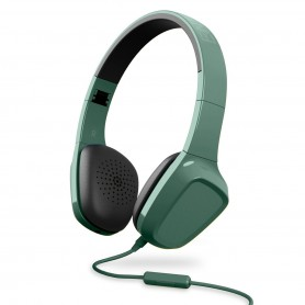Auriculares Vincha Energy Sistem Cable 3.5mm Microfono - Verde