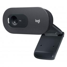 Camara Web Logitech C505 Hd Webcam 720p Microfono Cable Usb