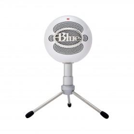 Microfono Blue Snowball Ice Estudio Condensador Streaming - Blanco