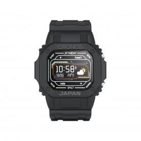 Reloj Smartwatch Cronos Japan Pulsaciones Oxigeno Bluetooth - Negro