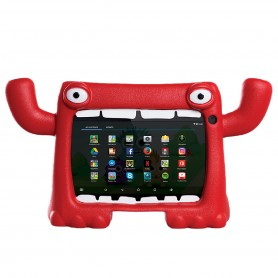 Tablet Chicos Android Funda Monster Wifi Youtube 16gb - Rojo