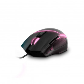 Mouse Gamer Energy Sistem Luz Led Rgb Color Pc Ps4 Xbox