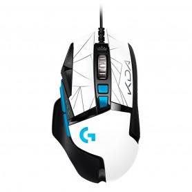 Mouse Gamer Logitech G502 League Of Legends Kda 25k Botones