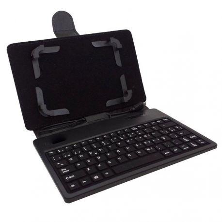 Funda Tablet 7 Con Teclado Incorporado - Tipo Agenda