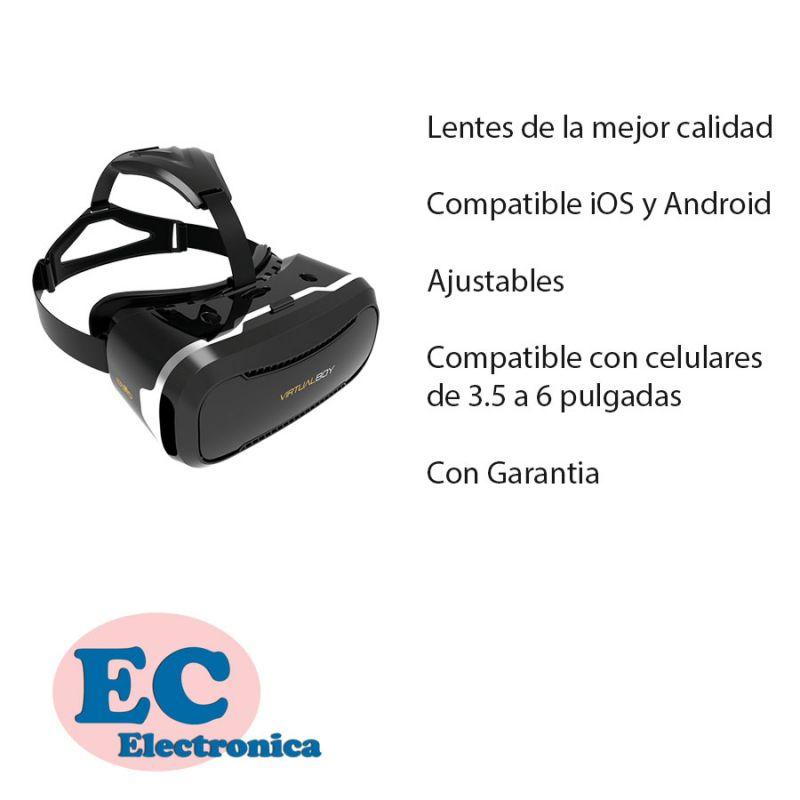 961c418afa ... Lentes Gafas Realidad Virtual Vr Box 2.0 Control Remoto Bt